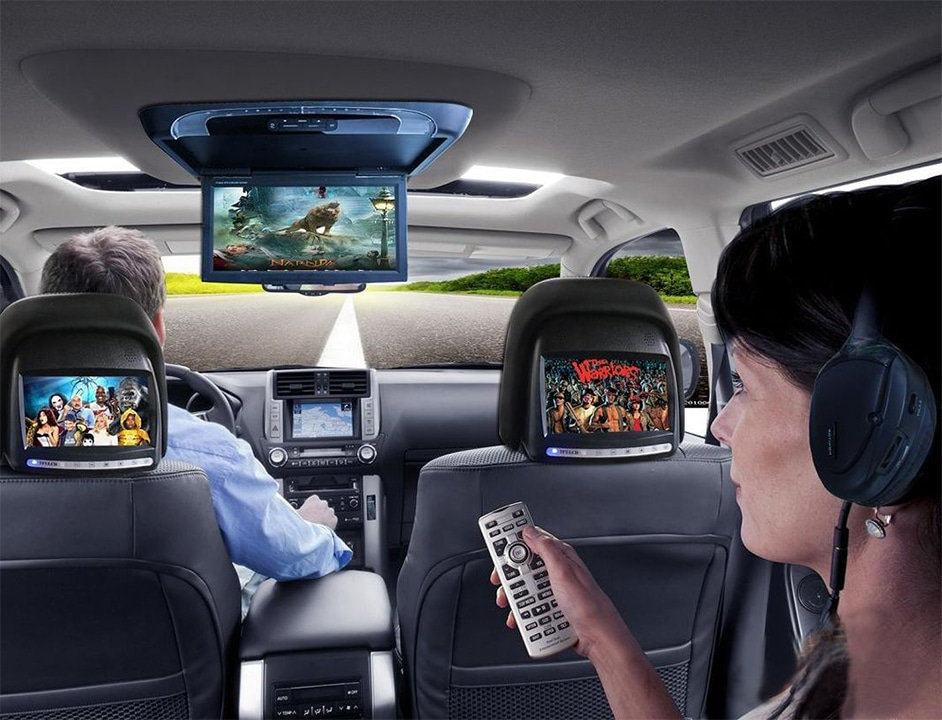 Rear Entertainment Auto Sound Security
